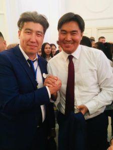 Просто хороши человек - Бауржан Касымбергебаев и Руководитель ЮК Закон и Право - Галымжан Саржанов
