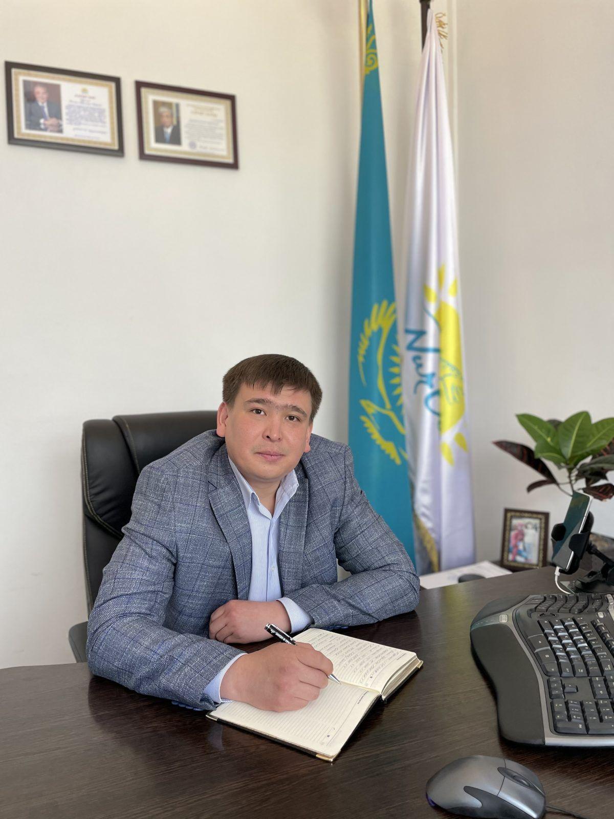 Благодарность - Молдагалиеву Айбар Ерлановичу